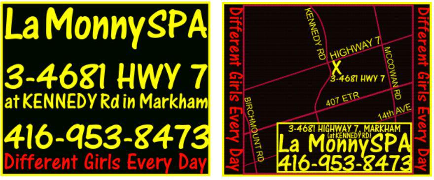 Markham spa print advertisement