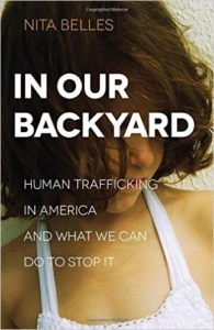 In Our Backyard human trafficking image and copy