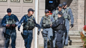 image of York regional Police raid of sex trafficking operatoin
