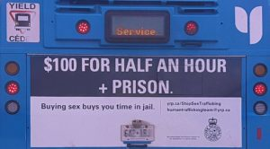 York Regional Polic Stop Sex Trafficking Bus Advetisement